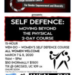 Tickets to Self Defense: Moving Beyond the Physical